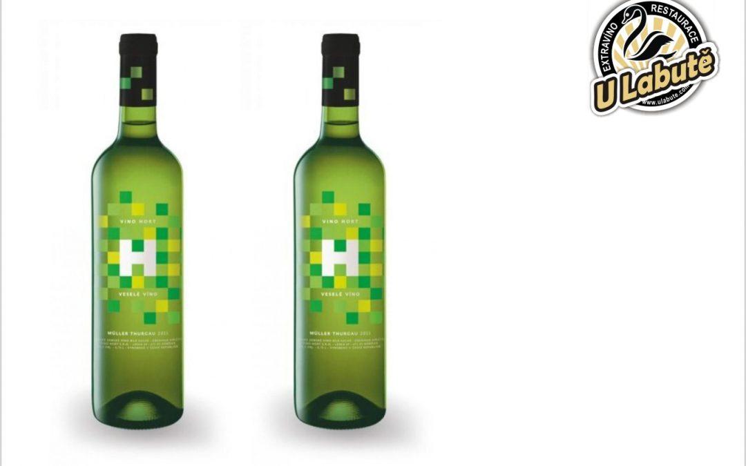 Veselé víno, Muller-Thurgau, 2020, Hort, suché, O,75 l