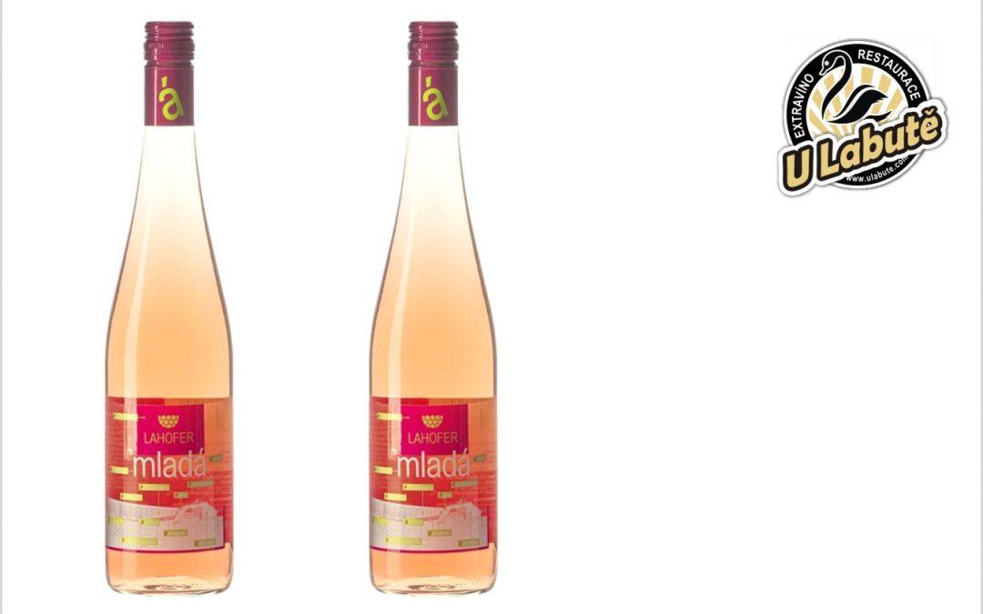 Mladá Lahoferka svatovavřinecké rosé, 2020, Lahofer, polosladké, O,75 l