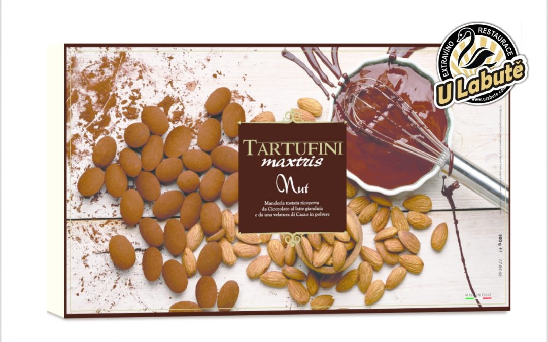 Pralinky Tartufini Nut Maxtris 500g